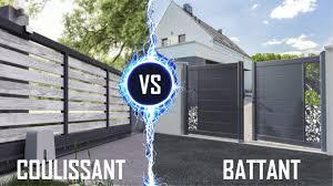Un portail battant ou un portail coulissant, comment faire son choix ?